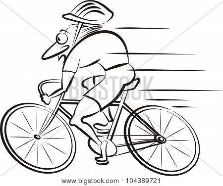 cyclist, cycling