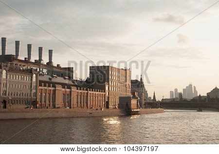 State Power Plant No. 1 In Moscow