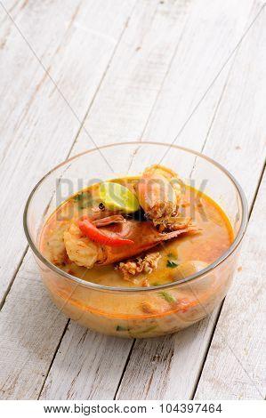 Thai Cuisine Tom Yum Goong