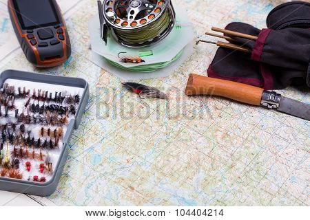 Intend To Fishing Journey With Fishing Tackles