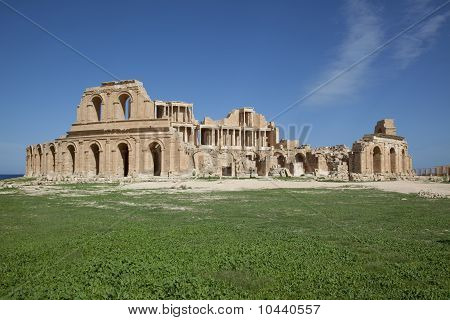 The Roman Theatre Of Sabratha
