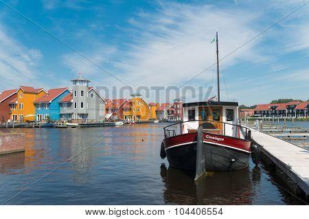 Harbor In Groningen