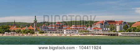 Sheraton Sopot Hotel and beach