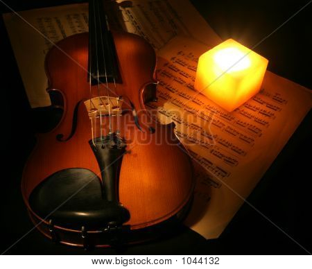 Violin And The Candle