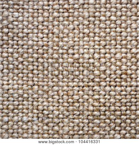 Sacking Linen Texture Vector Background