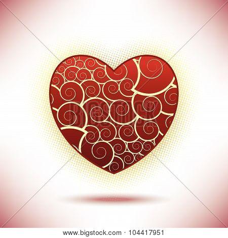 A valentine's day background