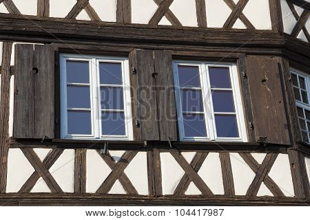 Architecture Of The Strasbourg, Bas-rhin, Alsace, France