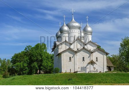 Church Of The Saint Boris And Saint Gleb In Plotniki