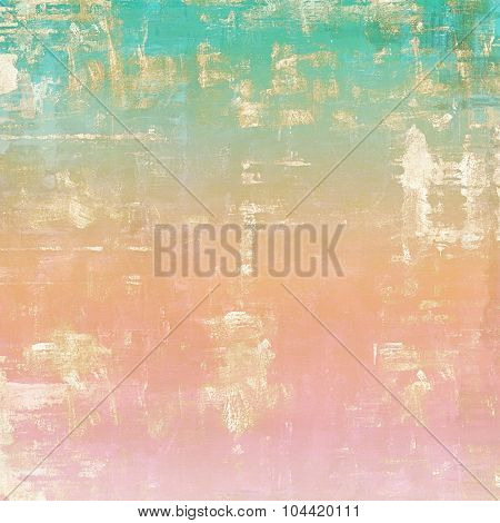 Grunge colorful background. With different color patterns: yellow (beige); brown; blue; pink
