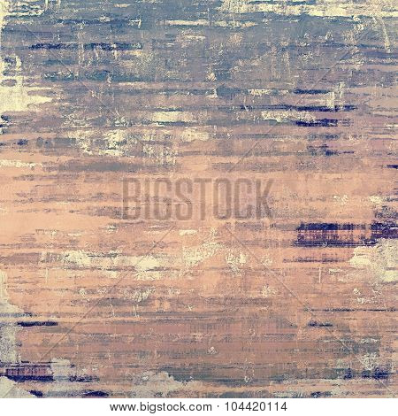 Old grunge textured background. With different color patterns: yellow (beige); blue; gray; pink