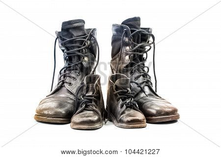 Combat Boots For Adult And Kid