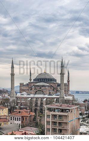 Hagia Sophia Elevated View
