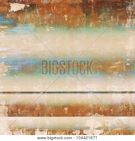Old school textured background. With different color patterns: yellow (beige); brown; blue; cyan