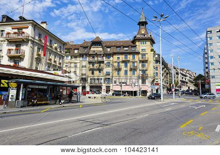 Architecture View Of The City, Lausanne