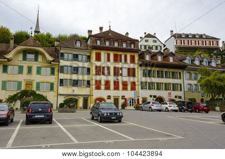 Picturesque Townhouses Of Morat