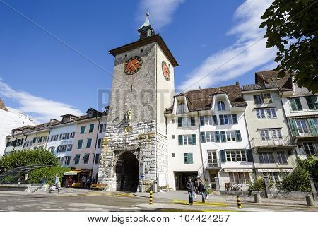 The Old Tower In Solothurn