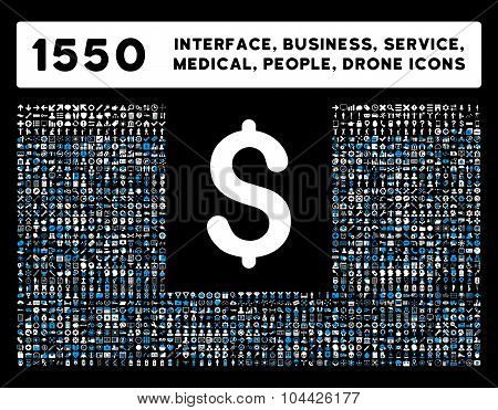 Interface, Business, Tools, People, Medical, Awards Vector Icons