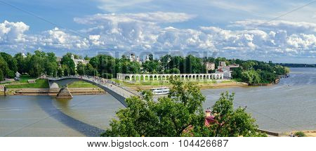 Veliky Novgorod, View From The Height