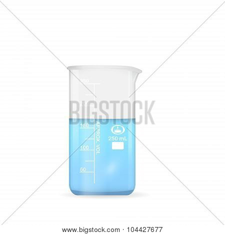 Chemical Beaker, 250 Ml Volume