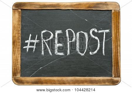 Repost Hashtag