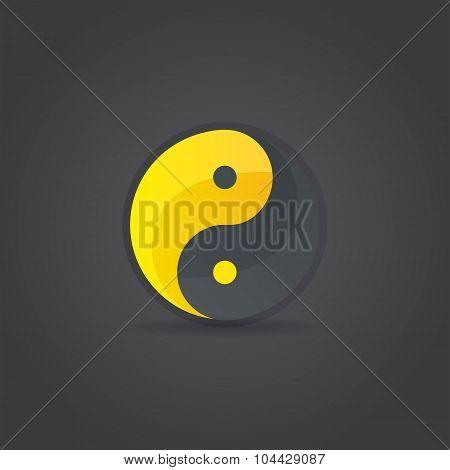 Yin And Yang Sign