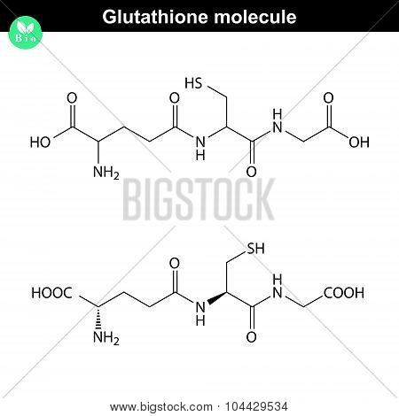 Glutathione Chemical Structure