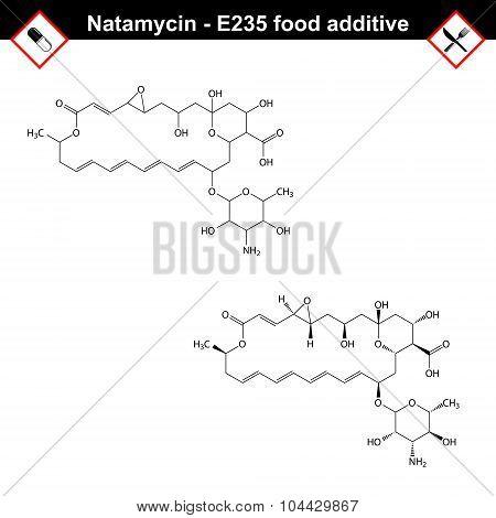 Natamycin Molecule