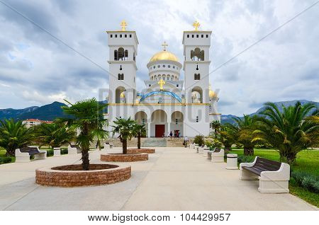 The Orthodox Cathedral Church Of St. Jovan Vladimir, Bar, Montenegro