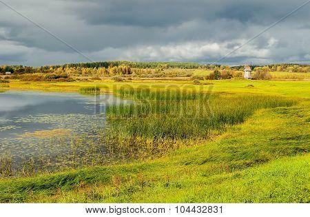 View Of The Floodplain Of River Soroti