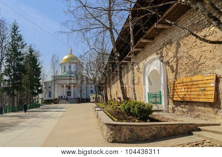 The Pskovo-pechersky Dormition Monastery