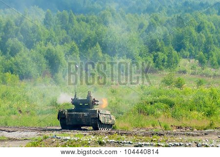 Terminator Tank Support Fighting Vehicle. Russia