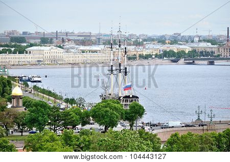 View Of Saint-petersburg From A Height, Russia