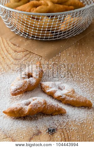 Fried Dough With Sugar