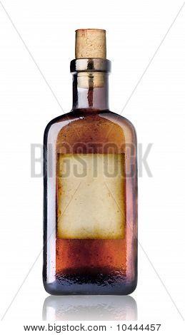 Old Fashioned Medicine Bottle.