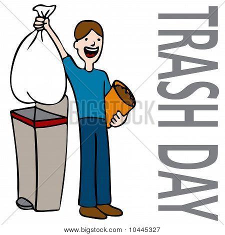 Trash Day Man