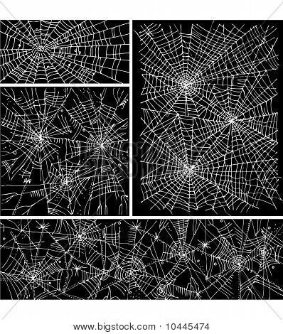 Web background pattern set