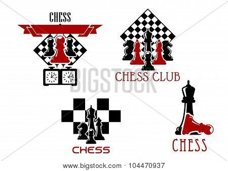 Chess club and tournament symbols