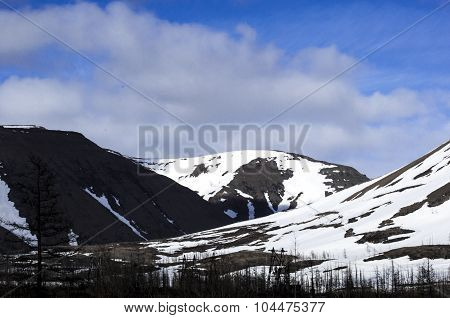 The Mountains In Winter