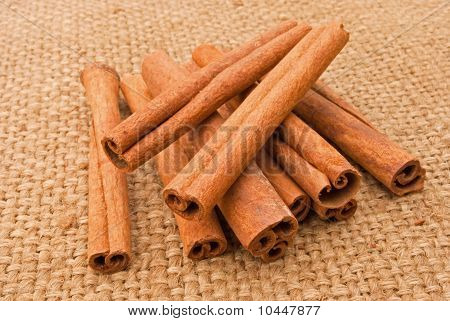 Cinnamon Sticks On A Canopy