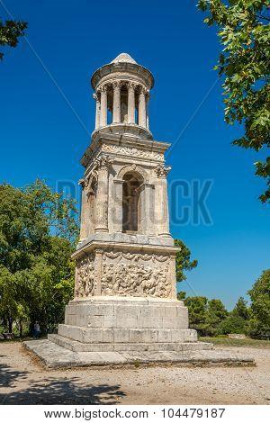 Saint-remy-de-provence Mausoleum Of Glanum