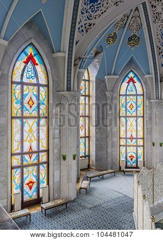 Kul-sharif Mosque In The Sity Kazan, Tatarstan, Russia.