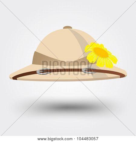 pith helmet hat for safari