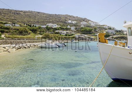 Ornos Beach, Mykonos, Greece