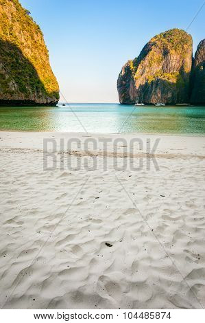 Deserted Maya Bay