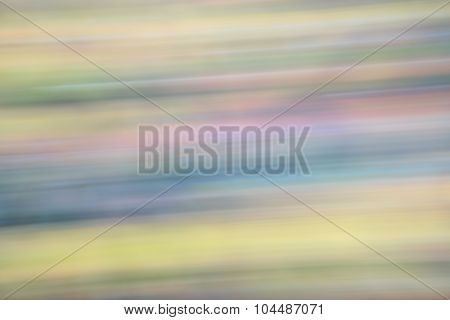 motion blur abstract of fall color foliage