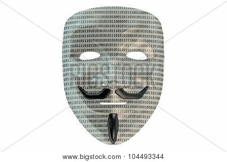 Anonymous Mask, Hacker Concept