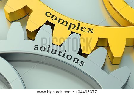 Complex Solution Concept On The Gearwheels