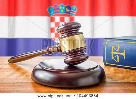 A Gavel And A Law Book - Croatia