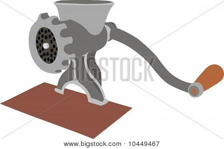 Old meat grinder