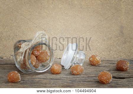 Tamarind Mixed With Granulated Sugar